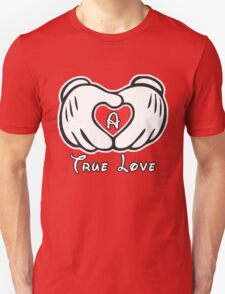 TRUE LOVE - INITIALS - A T-Shirt