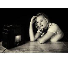 The Radio Serial Photographic Print