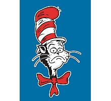 The Grumpy Cat in the Hat Photographic Print