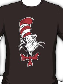 The Grumpy Cat in the Hat T-Shirt