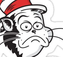 The Grumpy Cat in the Hat Sticker