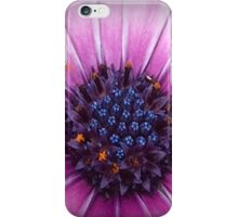 Pink And Blue Flower iPhone Case/Skin