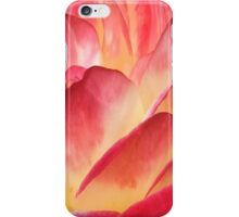 Red And Yellow Rose Petals iPhone Case/Skin