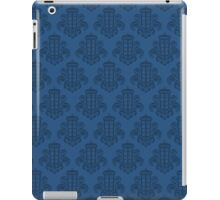 Tardis Damask - Blue iPad Case/Skin