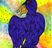 raven the crow by ClippityClopArt