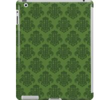 Tardis Damask - Green iPad Case/Skin
