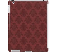 Tardis Damask - Red iPad Case/Skin