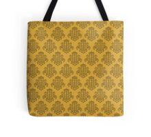 Tardis Damask - Yellow Tote Bag