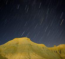 Death Valley star trail by aswan