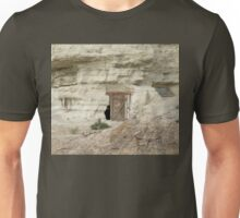 Dwelling carved from sandstone Unisex T-Shirt