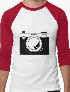Camera - Because Cameras are Cool Men's Baseball ¾ T-Shirt