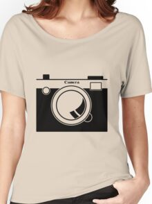 Camera - Because Cameras are Cool Women's Relaxed Fit T-Shirt