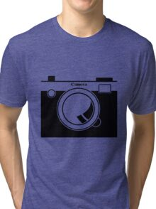Camera - Because Cameras are Cool Tri-blend T-Shirt