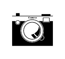 Camera - Because Cameras are Cool Photographic Print