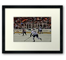 On The Ice Framed Print