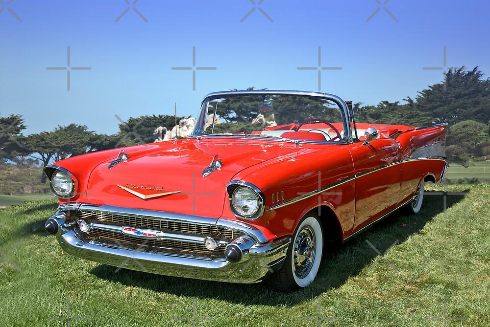 1957 Chevrolet Bel Air Convertible II by DaveKoontz