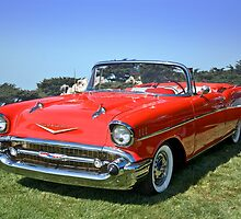 1957 Chevrolet Bel Air Convertible II by DaveKoontz