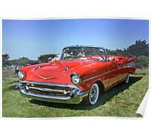 1957 Chevrolet Bel Air Convertible II Poster