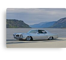 Riviera by Buick 1963 Canvas Print