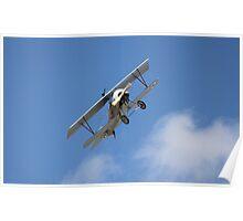 Soaring Biplane Poster