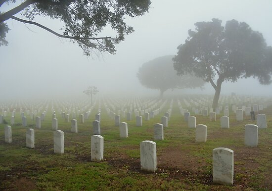 Fort Rosecrans National Cemetery by Eleu Tabares