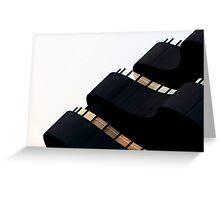 Sunset Facade Greeting Card