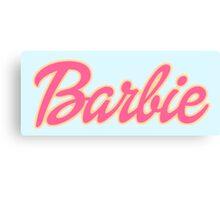 Barbie Logo Canvas Print