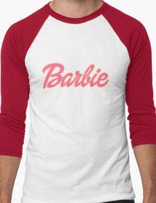 Barbie Logo Men's Baseball ¾ T-Shirt