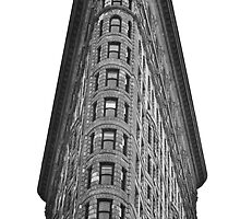 Flatiron Building - New York by Tyson Battersby