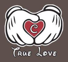 TRUE LOVE - INITIALS - C by mcdba