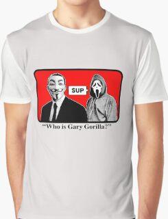 WHO'S GARY GORILLA Graphic T-Shirt