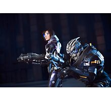 Mass Effect Garrus and Shepard. Photographic Print