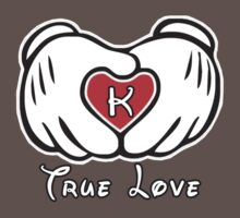 TRUE LOVE - INITIALS - K T-Shirt