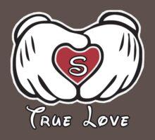 TRUE LOVE - INITIALS - S by mcdba
