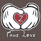 TRUE LOVE - INITIALS - Z by mcdba
