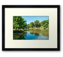 Peaceful Place Framed Print