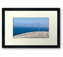 Wind Farm - Fleurieu Peninsula, South Australia. Framed Print