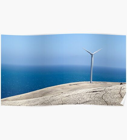 Wind Farm - Fleurieu Peninsula, South Australia. Poster