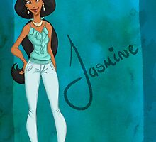 DisneyBound Jasmine  by Chantelle Janse van Rensburg