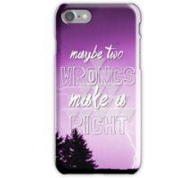 5sos Safety Pin lyrics iPhone Case/Skin