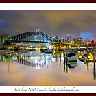 Last dawn at lavender bay by donnnnnny