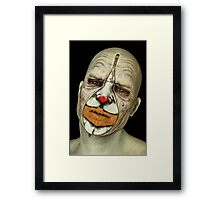Behind The Mask - The Tears of a Clown Framed Print
