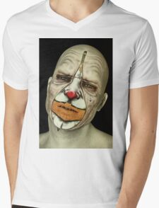 Behind The Mask - The Tears of a Clown Mens V-Neck T-Shirt