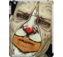 Behind The Mask - The Tears of a Clown iPad Case/Skin