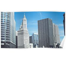 The Tribune Tower, Chicago Poster