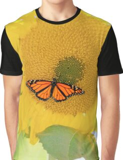 Monarch On the Sun Graphic T-Shirt