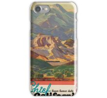 Vintage poster - California iPhone Case/Skin