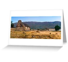 Settlers Cottage Greeting Card