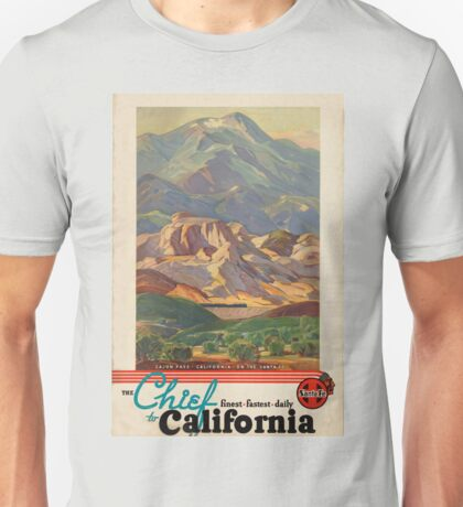 Vintage poster - California Unisex T-Shirt