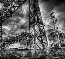 Speeding Train by Michael Sanders